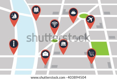 map pinpoints