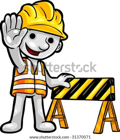 vector clip art illustration smartoon construction stock vector rh shutterstock com clip art construction illustrations clip art construction images