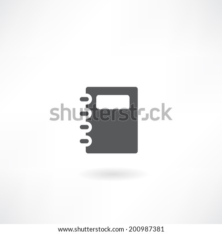 Vector clipboard with an empty sheet of paper - stock vector