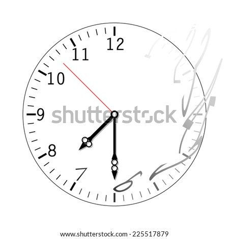 vector clock time is running out