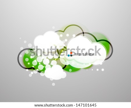 Vector clouds technology design