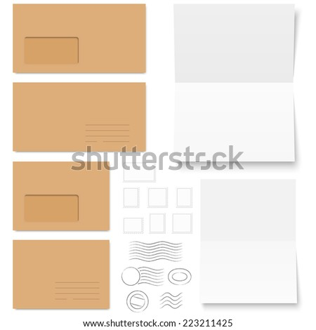 Layout Trifold Brochures Cover Design Scuffed Vector – Colored Writing Paper