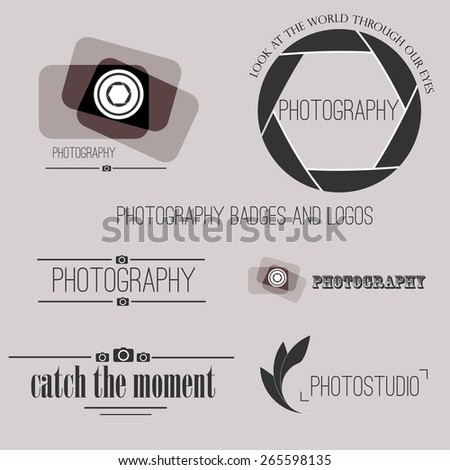 Photography Badges Photography Vintage Badges And