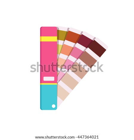 Vector color panton for designer - stock vector