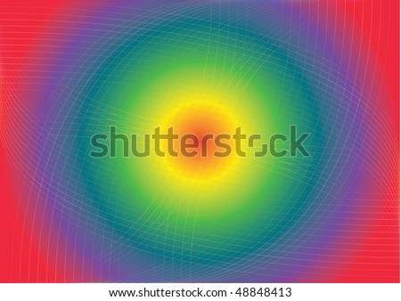 Vector colorful abstract background with line pattern