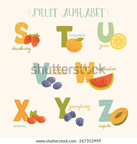 Food And Fruit That Starts With The Letter Y