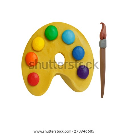 Can You Paint Plasticine Modeling Clay
