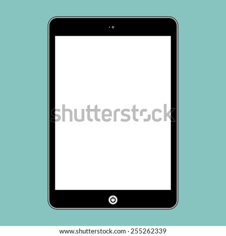 Vector computer tablet. Illustration Similar To iPad. - stock vector