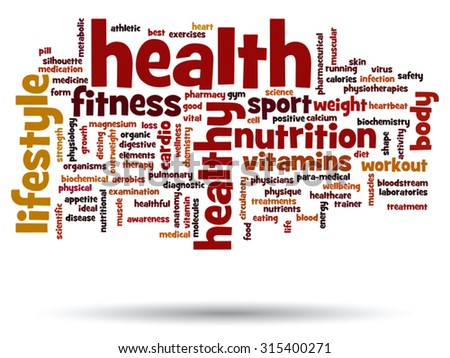 health medicine and nutrition