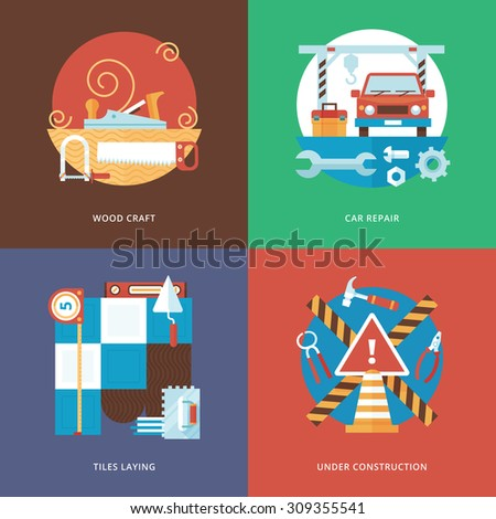 Vector colorful flat donut truck isolated stock vector for Truck design app