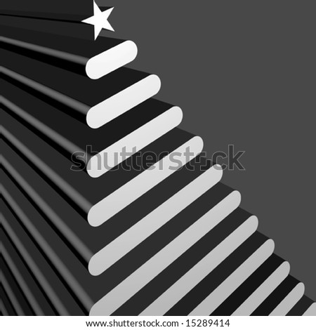 Vector Contemporary Tree