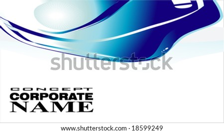 VECTOR Corporate Business Colorful card template