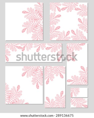Vector corporate identity. Abstract backdrop. Template. Brand, visualization, corporate identity business set. Identity Design Template. Card, envelope. - stock vector
