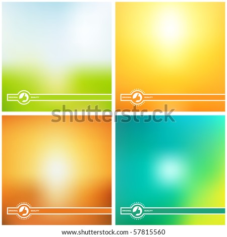 Vector creative background. - stock vector