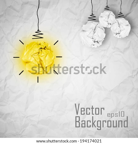 Vector - creative concept - stock vector