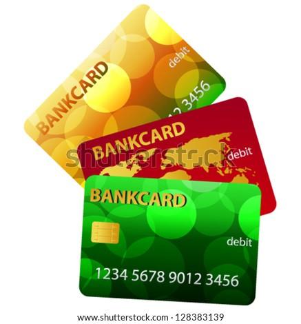 Vector Credit Card - stock vector