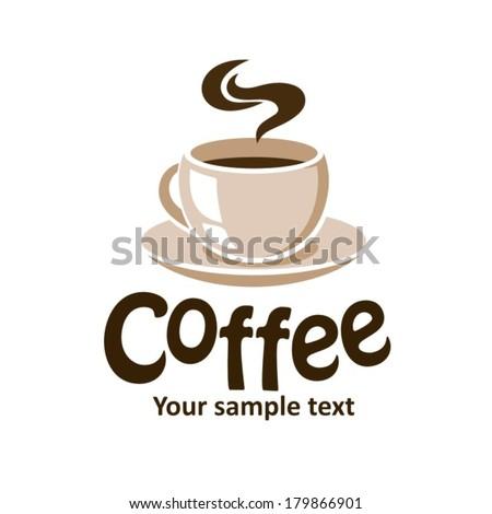 vector cup of coffee - stock vector
