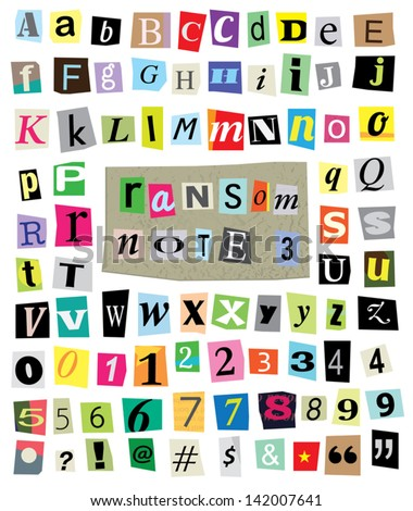 Magazine Letters Stock Images, Royalty-Free Images & Vectors ...