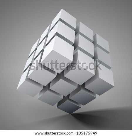 Vector 3D illustration - stock vector