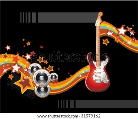 VECTOR Dance and Music Event Background for poster or brochure