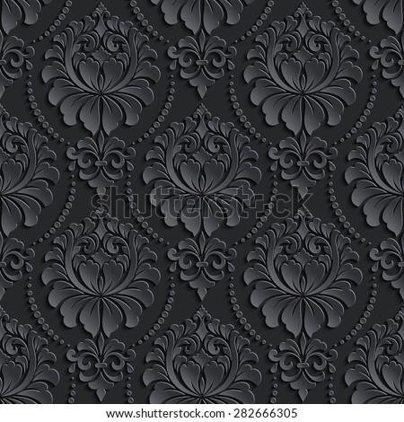 Elegant Background Pattern Black And White Elegant Black Backgrou...