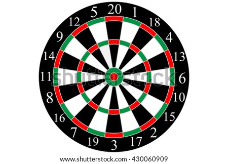 Vector dart board