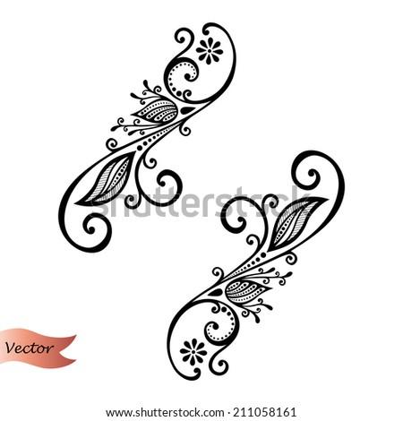 Vector Deco Abstract Elements. Design elements - stock vector