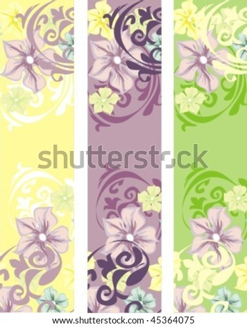 VECTOR Decorative background for design