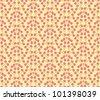 Vector decorative seamless pattern - stock vector