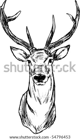 Deer Antler Silhouette Deer Antler Silhouette Free also Tumblr Outlines also 360569513895253388 besides 246923992052297290 also Moose tattoo. on deer head painting