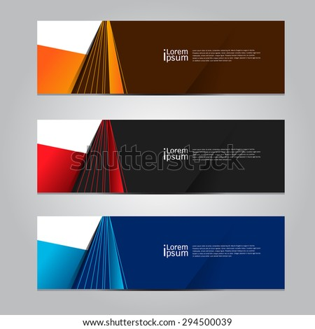 Vector design Banner background. illustration EPS10