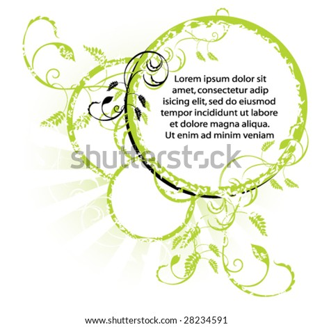 Vector design element. - stock vector