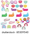 Vector design elements - stock vector