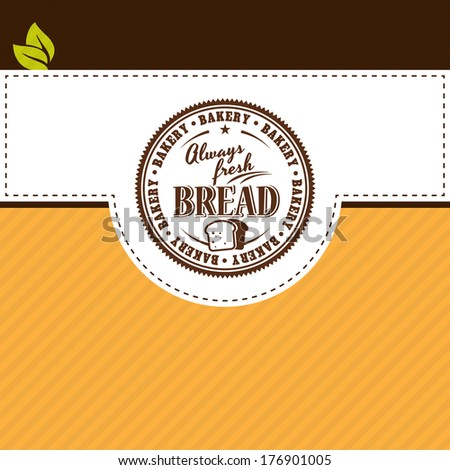 Vector design elements of bakery shop typographic labels