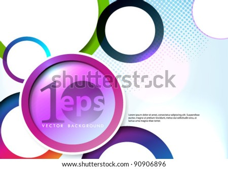 Vector Design - eps10 Abstract Concept Illustration