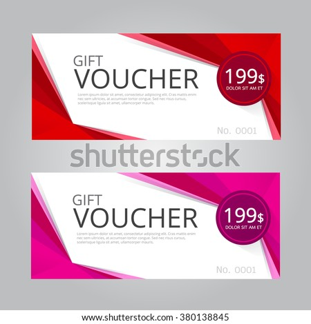 Gift voucher stock images royalty free images vectors vector design for gift vouchercoupon negle Images