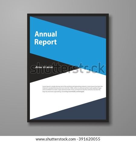 Vector design leaflet brochure, flyer cover, template annual report, abstract presentation templates, book cover. In size a4.
