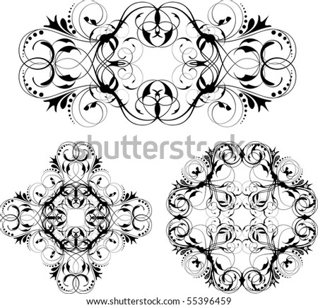 vector design ornament - stock vector