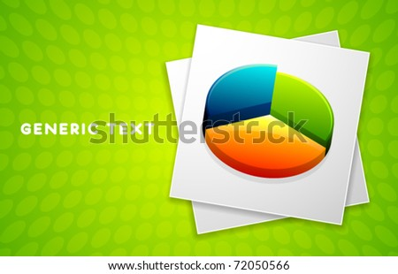Vector Diagram Design - stock vector
