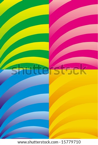 vector different color abstract backgrounds
