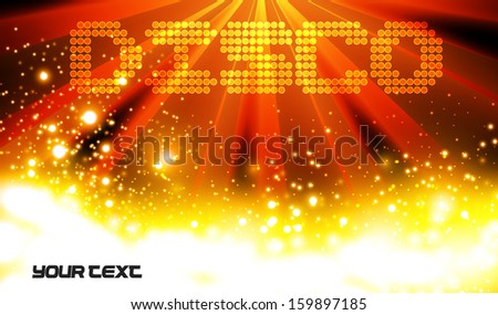 Vector, Disco Abstract Background