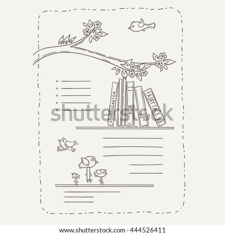 Coloring Book Layout : Kids book layout stock images royalty free & vectors
