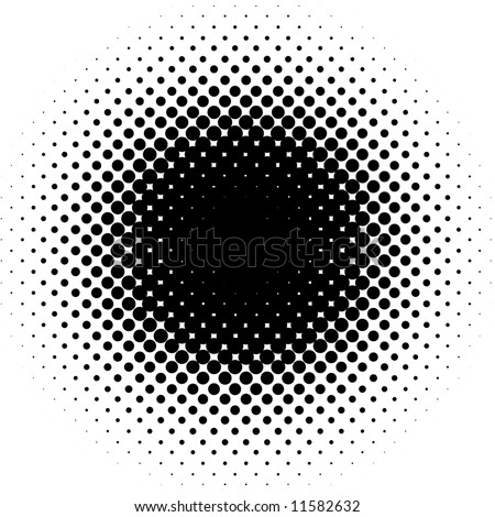 vector dots pattern - stock vector