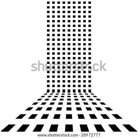 Vector dotted retro abstract background
