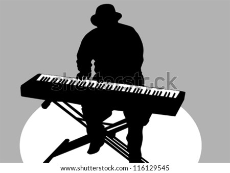 Keyboard player Stock Photos, Images, & Pictures ...