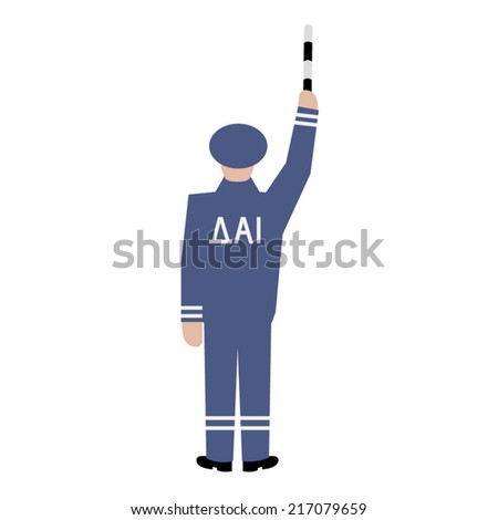 Traffic Policeman Drawing. Magnificent Traffic Police Drawing Images ...