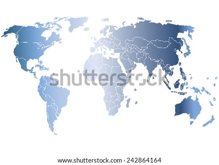Vector drawing world map background text monochrome stock vector vector drawing world map for background and textmonochrome worldmap vector template for website gumiabroncs Gallery