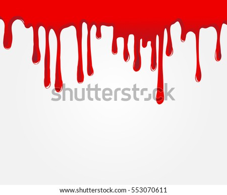vector dripping blood paint drips stock vector (2018) 553070611