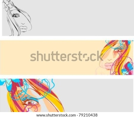 VECTOR Element for design of a website - stock vector