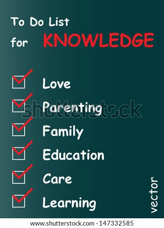 Vector eps concept or conceptual white chalk text word cloud or tagcloud as blackboard background as a metaphor for child,family,education,life,home,young,care,love and school learn achievement